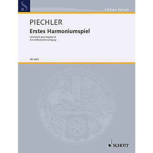 Schott Erstes Harmoniumspiel Schott Series