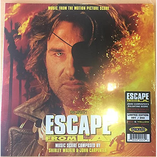 Alliance Escape From L.a. Music From Motion Picture Score - Escape From L.A. Music From Motion Picture Score