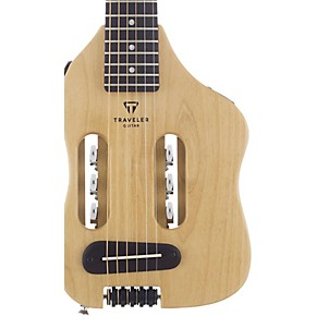 open box traveler guitar escape steel string acoustic electric travel guitar musician 39 s friend. Black Bedroom Furniture Sets. Home Design Ideas