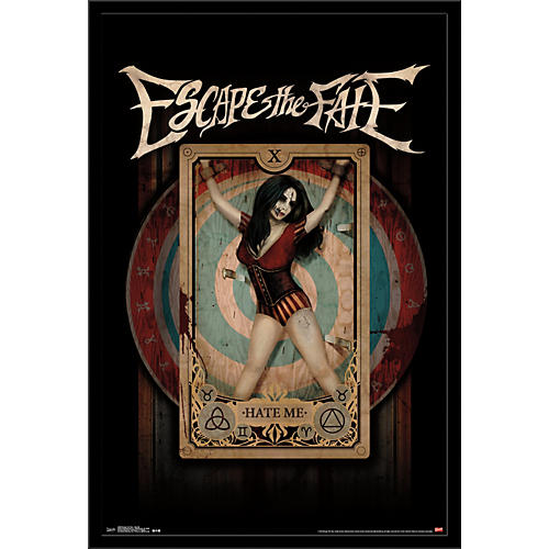 Trends International Escape The Fate - Hate Me Poster