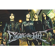 Escape The Fate - Red Light Poster Premium Unframed