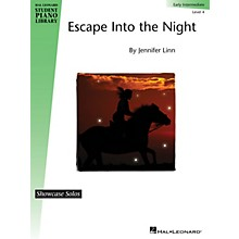 Hal Leonard Escape into the Night Piano Library Series by Jennifer Linn (Level Early Inter)