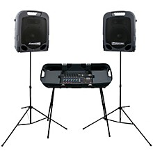 Open Box Peavey Escort 3000 Self Powered Portable PA System 300 Watts