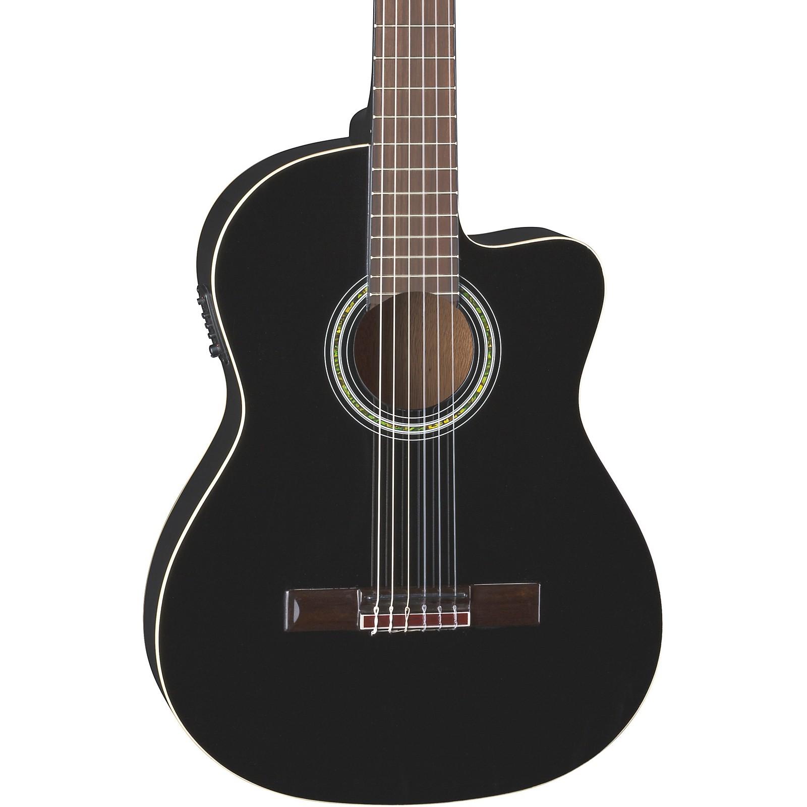Dean Espana Full Size Acoustic-Electric Cutaway Classical Guitar