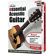 Emedia Essential Acoustic Guitar Instructional DVD
