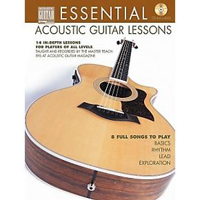 string letter publishing essential acoustic guitar lessons book cd musician 39 s friend. Black Bedroom Furniture Sets. Home Design Ideas