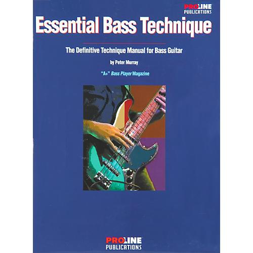 Proline Essential Bass Technique Book