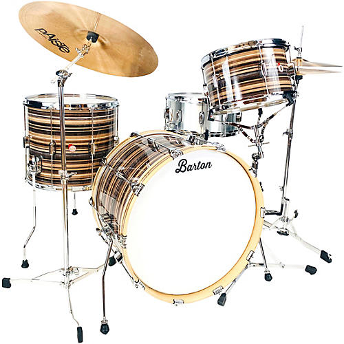 Barton Drums Essential Birch 3-Piece Shell Pack with 22 in. Bass Drum Pismo Bartex