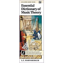 Alfred Essential Dictionary of Music Theory  Handy Guide
