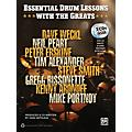 Alfred Essential Drum Lessons with the Greats Book & CD thumbnail