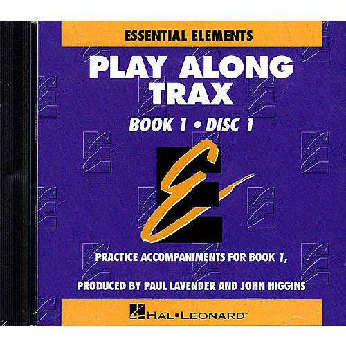 Hal Leonard Essential Elements - Book 1 (Original Series) (Play Along Trax (2-CD set)) Concert Band