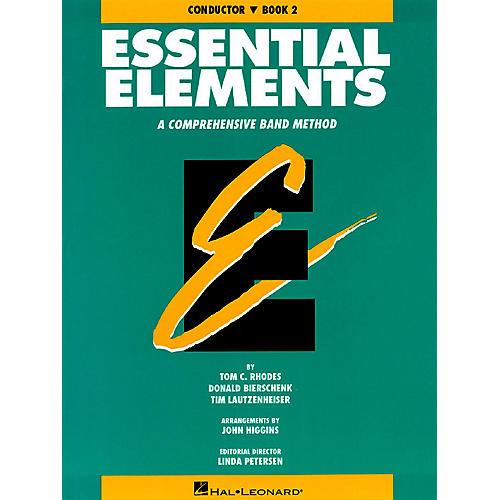 Hal Leonard Essential Elements - Book 2 (Original Series) (Conductor) Concert Band
