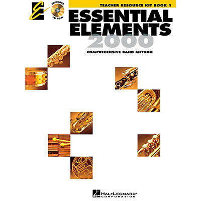 Hal Leonard Essential Elements 2000 for Band - Teacher Resource Kit (Book 1 with CD-ROM)