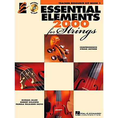 Hal Leonard Essential Elements 2000 for Strings - Teacher Resource Kit (Book 1 with CD-ROM)