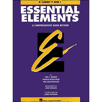 Hal Leonard Essential Elements Book 1 B Flat Clarinet
