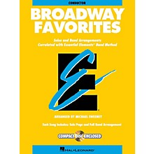 Hal Leonard Essential Elements Broadway Favorites Essential Elements Band Folios Series Book by Michael Sweeney