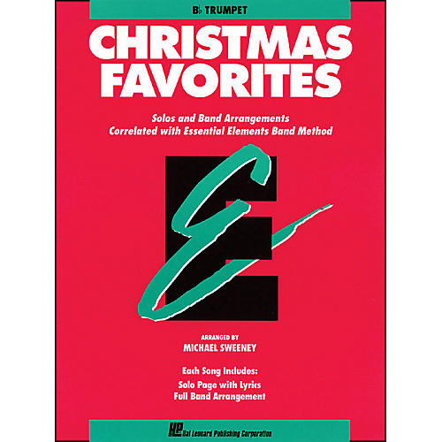 Hal Leonard Essential Elements Christmas Favorites B Flat Trumpet