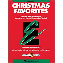 Hal Leonard Essential Elements Christmas Favorites Conductor Includes Accompaniment Book/CD