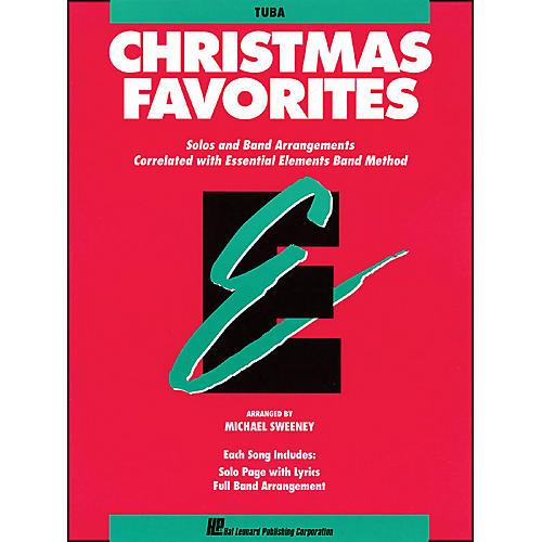 Hal Leonard Essential Elements Christmas Favorites Tuba