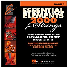 Hal Leonard Essential Elements For Strings Play Along CD Set (Book 1, Disc 2 and 3 )