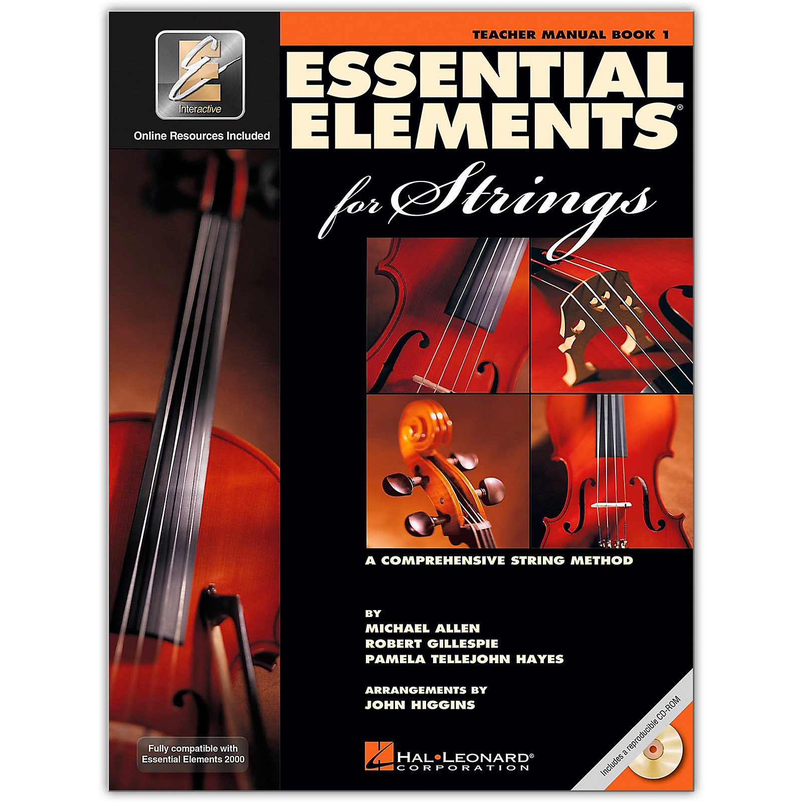 Hal Leonard Essential Elements For Strings Teacher's Manual (Book 1 with EEi and CD-ROM)
