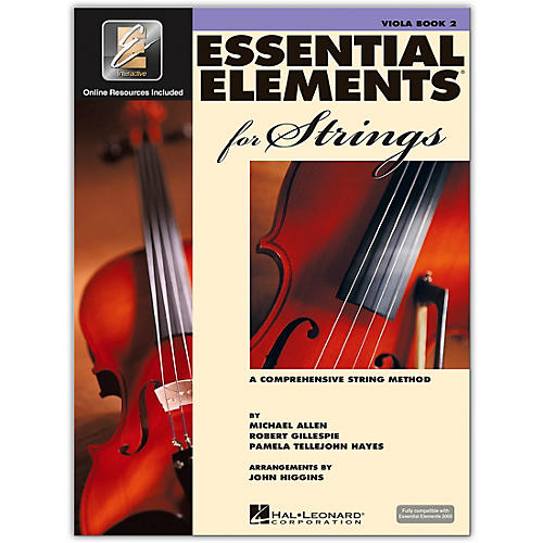 Hal Leonard Essential Elements For Strings Viola (Book 2 with EEi)