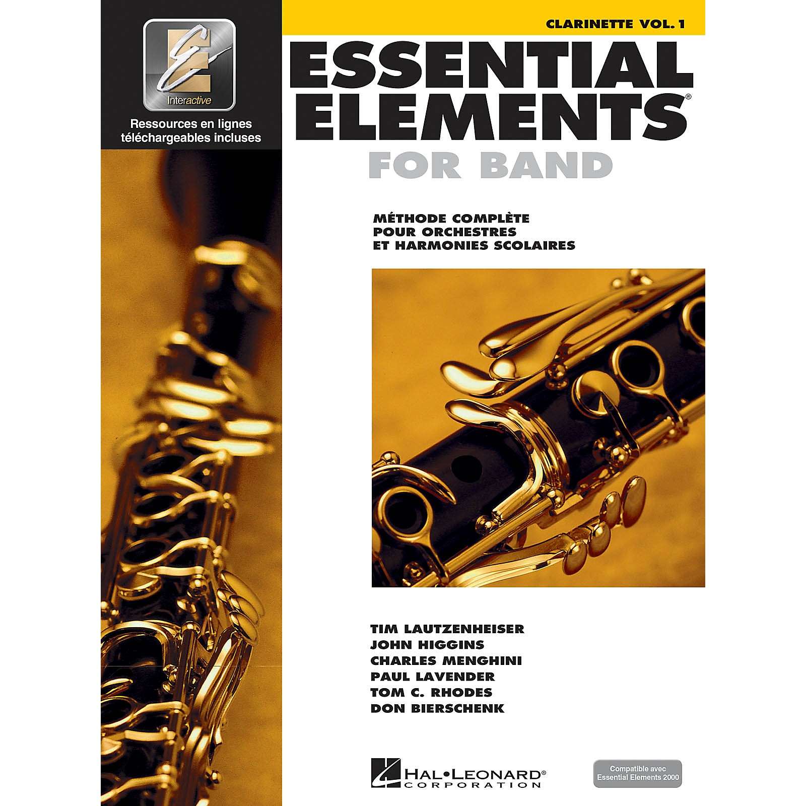 Hal Leonard Essential Elements French Edition EE2000 Clarinet B-flat Essential Elements for Band Series Softcover Media Online