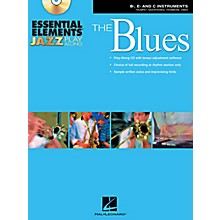 Hal Leonard Essential Elements Jazz Play-Along - The Blues (B-Flat, E-Flat, and C-Instruments) Book/CD