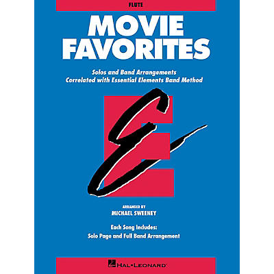 Hal Leonard Essential Elements Movie Favorites Essential Elements Band Folios Series Book by Michael Sweeney
