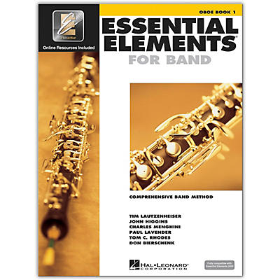 Hal Leonard Essential Elements Oboe 1 Book/Online Audio