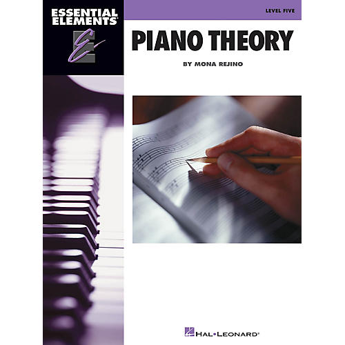 Hal Leonard Essential Elements Piano Theory - Level 5 Educational Piano Library Series Softcover by Mona Rejino