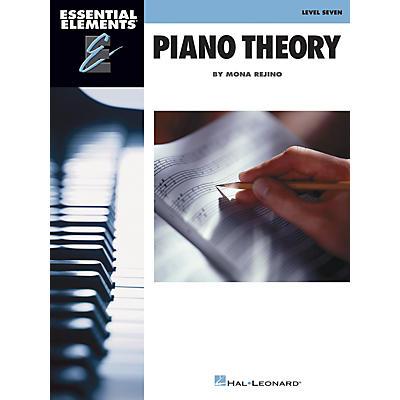Hal Leonard Essential Elements Piano Theory - Level 7 by Mona Rejino