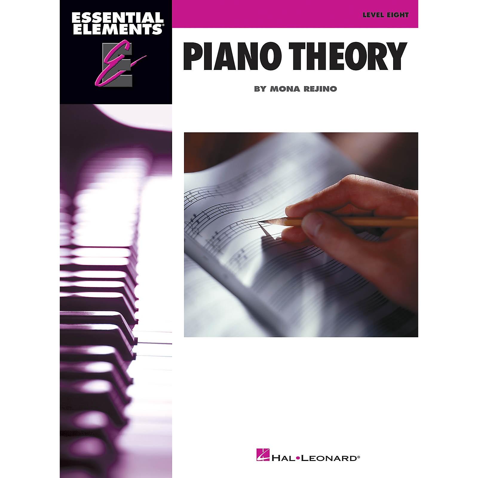 Hal Leonard Essential Elements Piano Theory - Level 8 by Mona Rejino