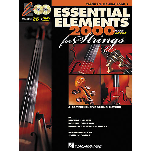 Hal Leonard Essential Elements Plus DVD for Strings Teachers Book 1
