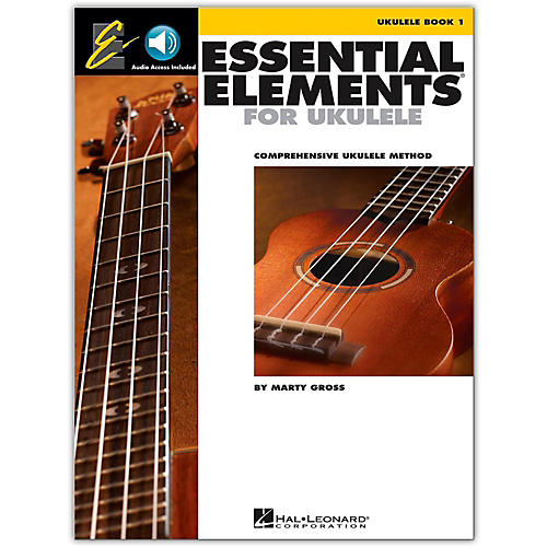Hal Leonard Essential Elements Ukulele Method Book 1 (Book/Online Audio)