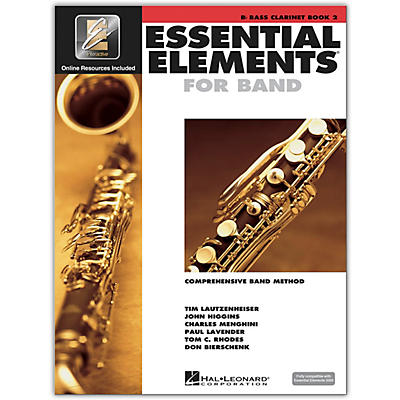 Hal Leonard Essential Elements for Band - Bb Bass Clarinet 2 Book/Online Audio