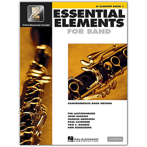 Hal Leonard Essential Elements for Band - Bb Clarinet 1 Book/Online Audio