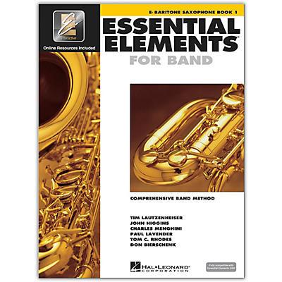 Hal Leonard Essential Elements for Band - Eb Baritone Saxophone 1 Book/Online Audio