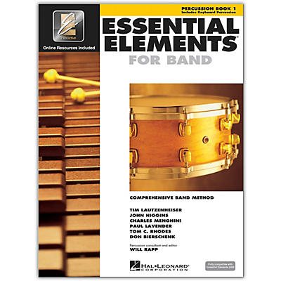 Hal Leonard Essential Elements for Band - Percussion and Keyboard Percussion 1 Book/Online Audio
