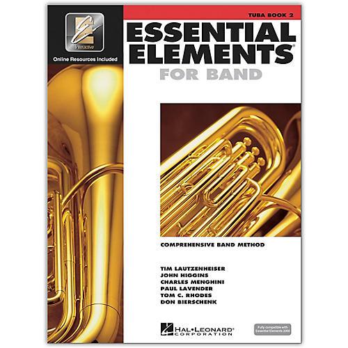 Hal Leonard Essential Elements for Band - Tuba 2 Book/Online Audio