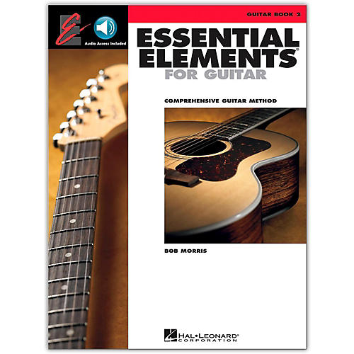 Hal Leonard Essential Elements for Guitar Book 2 Book/Online Audio