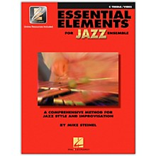 Hal Leonard Essential Elements for Jazz Ensemble - C Treble Vibes (Book/Online Audio)