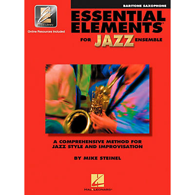Hal Leonard Essential Elements for Jazz Ensemble - Eb Baritone Saxophone (Book with EEi)