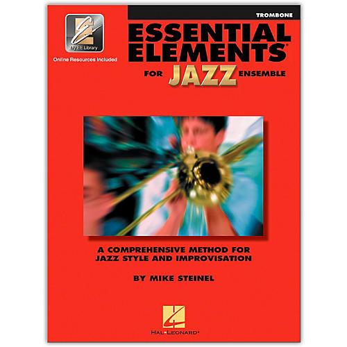 Hal Leonard Essential Elements for Jazz Ensemble - Trombone (Book/Online Audio)