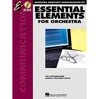 Hal Leonard Essential Elements for Orchestra - Orchestra Director's Communication Kit (with CD-ROM)