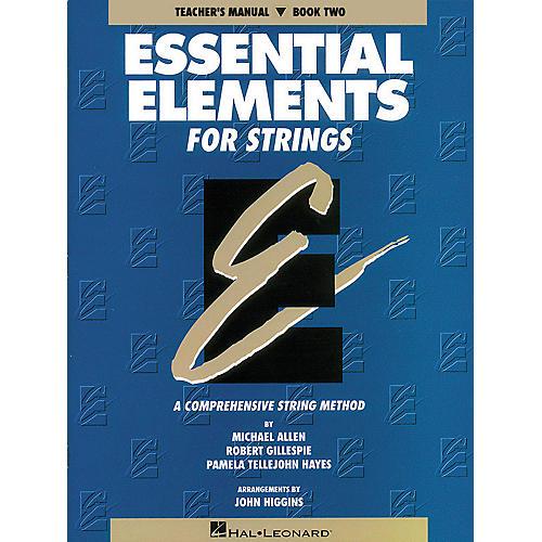 Hal Leonard Essential Elements for Strings - Book 2 (Original Series) Essential Elements Series Softcover
