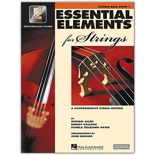 Hal Leonard Essential Elements for Strings - Double Bass 1 Book/Online Audio