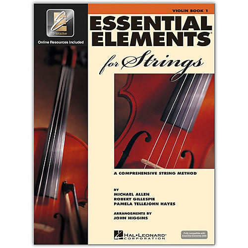 Hal Leonard Essential Elements for Strings - Violin 1 Book/Online Audio