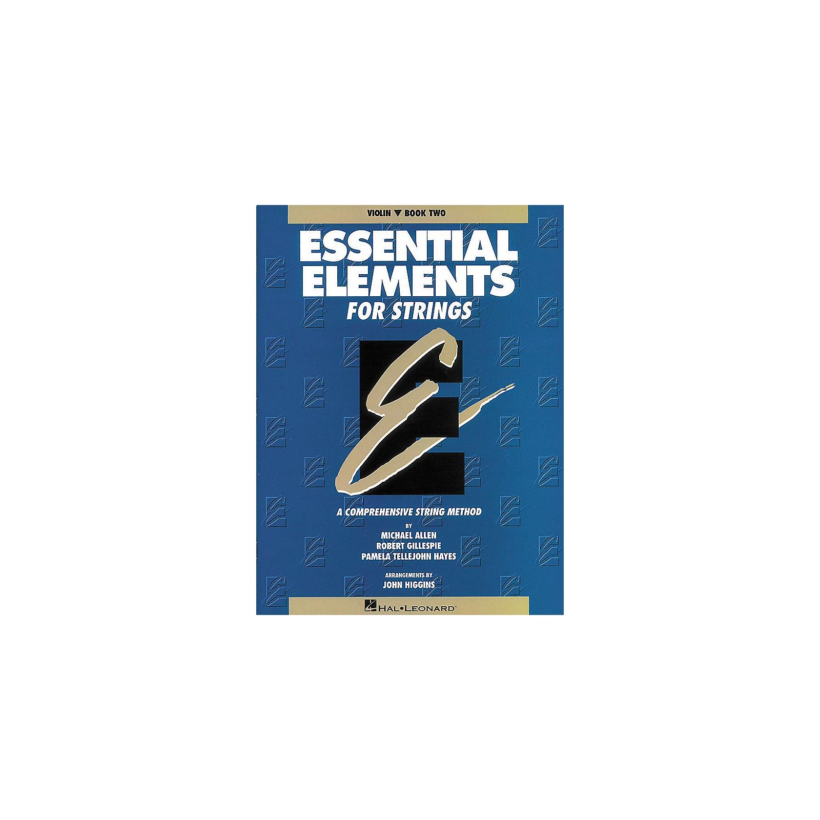 Hal Leonard Essential Elements for Strings Book 2