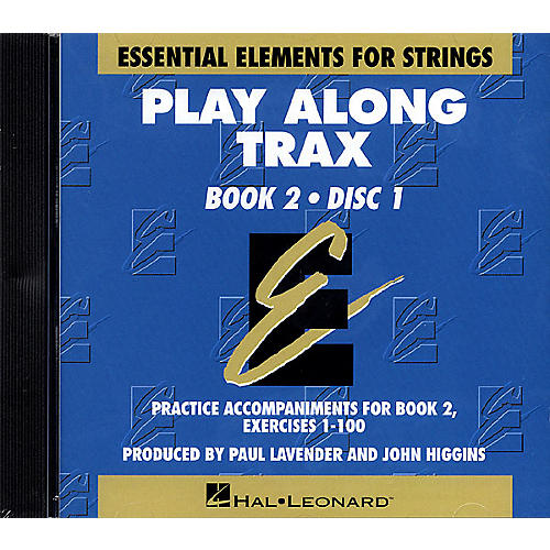 Hal Leonard Essential Elements for Strings Play-Along Trax - Book 2, Disc 1 Essential Elements CD by John Higgins